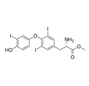 54914-53-3/Cas 54914-53-3 三碘甲腺原氨酸甲酯/3,3′,5-Triiodo-L-thyronine Methyl ester